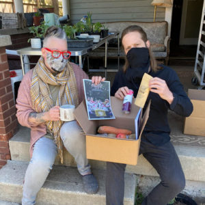 Potter Rebecca Graves-Prowse and urban farmer Jason Michael Thomas teamed up to help their community during the COVID-19 pandemic