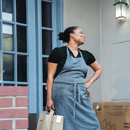 Monifa Dayo, chef of The Supperclub and new venture, Sur Place
