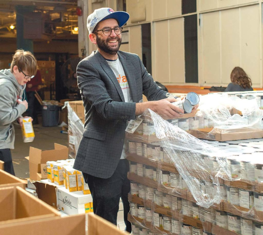 Philadelphia Share Food Program executive director George Matysik