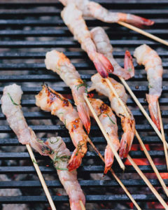 Shrimp Spiedini