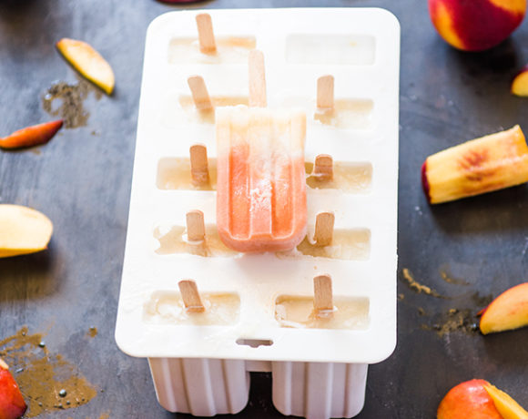 peach popsicles