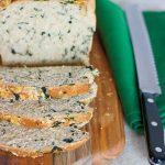 Parmesan kale bread