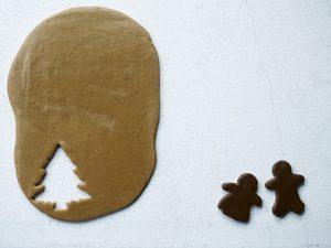 Basic dark gingerbread dough