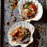 Steamed Scallops with Garlic and Vermicelli appetizer