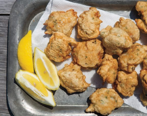 Fried Clam Cakes