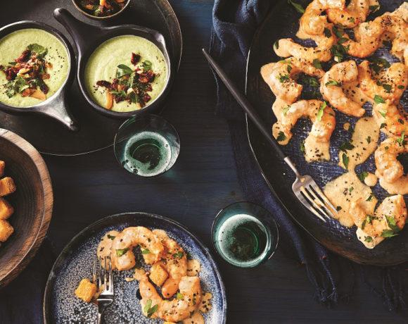 Shrimp made hot chicken style