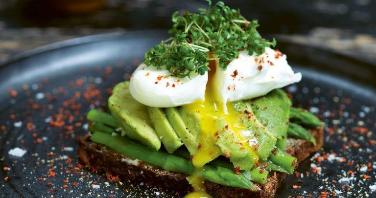 Avocado Asparagus Toast