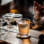 vermouth with orange peel spritz