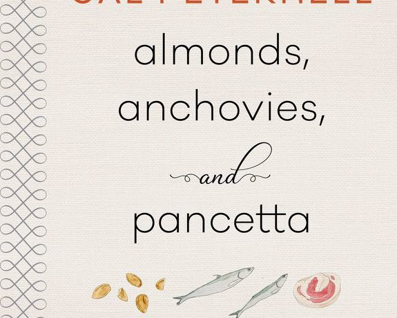 almonds anchovies cookbook