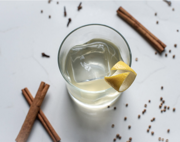 Clarified Milk Punch