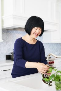 andrea nguyen in her kitchen