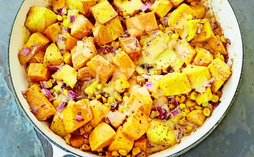 Butternut Squash & Sweet Corn Casserole - Edible Communities