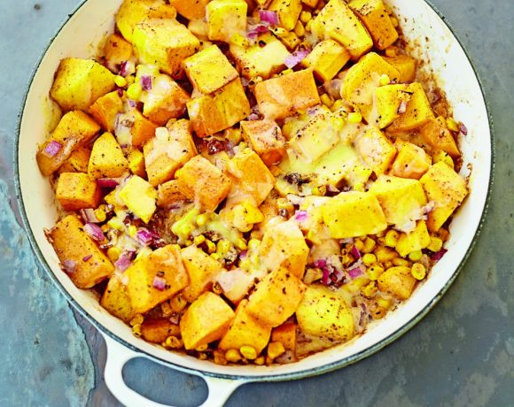 Butternut Squash and Sweetcorn Casserole