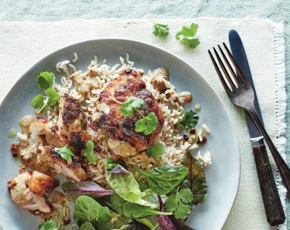 Easy Baked Chicken Satay