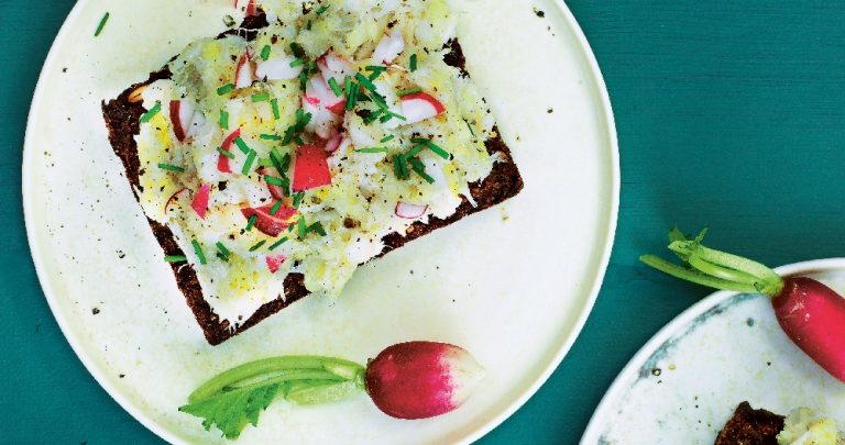 Cod Potato Sandwich
