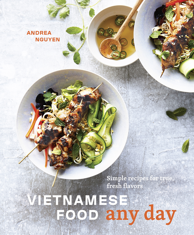 cover of cookbook vietnamese food any day