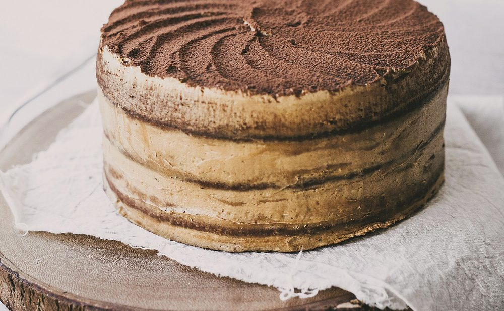 Cappuccino cake that is pure coffee flavor