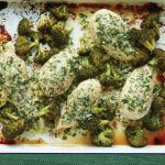 One-Pan Parmesan-Crusted Chicken with Broccoli