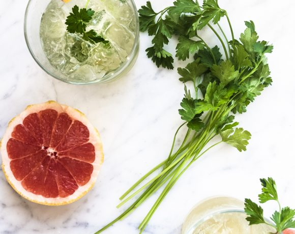 Grapefruit Parsley Spritz
