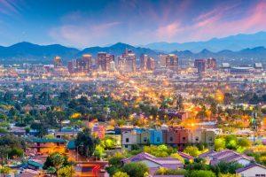 Phoenix, Arizona, USA Cityscape