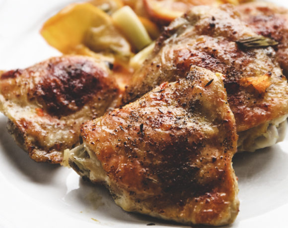 Braised Chicken Thighs With Orange