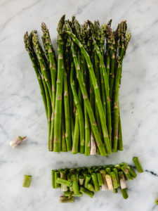 asparagus with ends trimmed