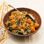 Freekeh with Kale, Butternut Squash, and Smoked Salt