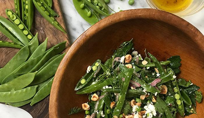 sugar pea salad