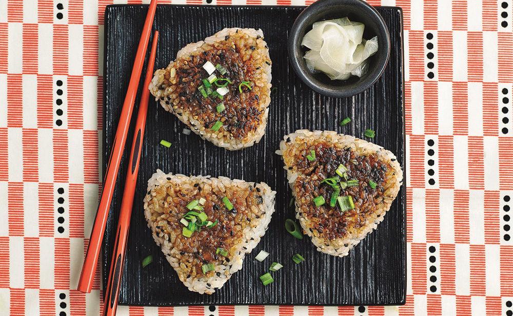 Yaki Onigiri - Japanese Rice Balls - Edible Communities