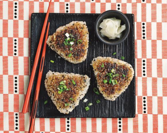 Yaki Onigiri (Grilled Japanese Rice Balls)