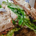 bacon lettuce cucumber sandwich