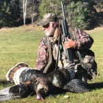 hunter with tom turkey