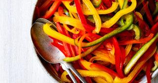 bell pepper slaw