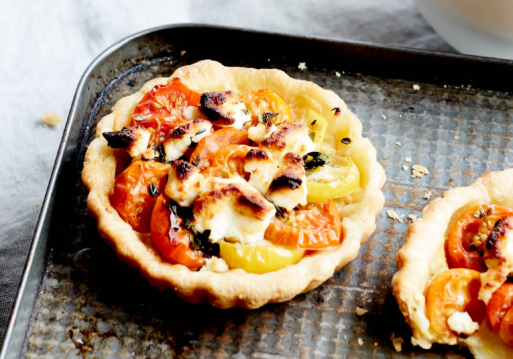 Tomato Tartlets perfect for a summer picnic
