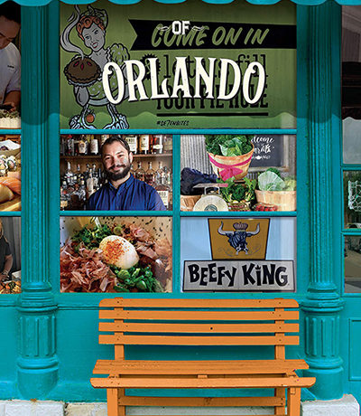 book cover of unique eats and eateries of orlando
