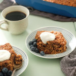 fruit butter baked oatmeal