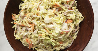 classic slaw with cabbage