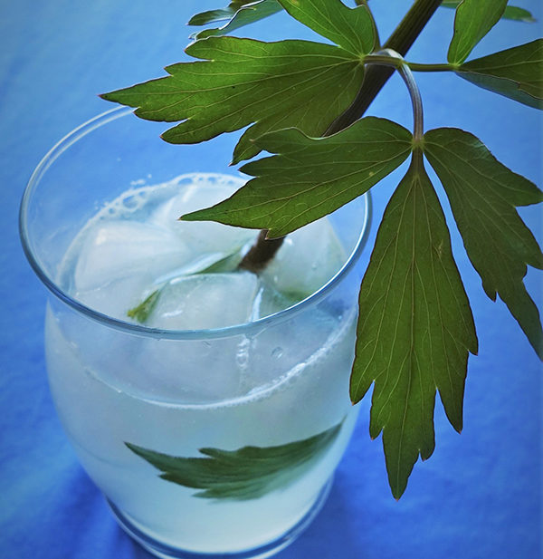 lovage lemonade