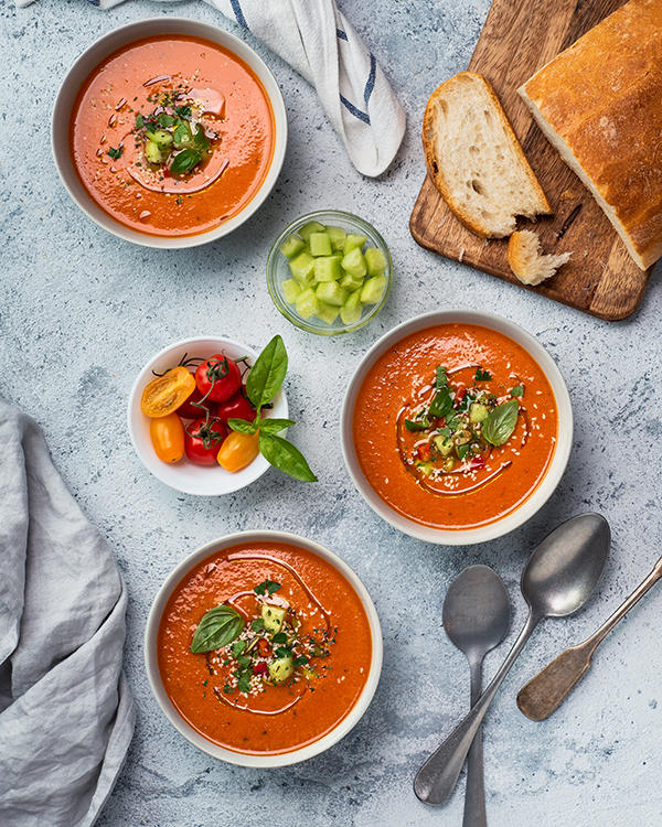 spanish gazpacho tomato soup