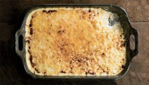 Mac n cheese gratin