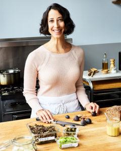 Ronna Welsh in her kitchen