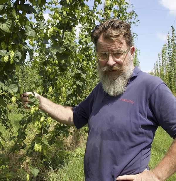 James Shepard Smokedown farms hops