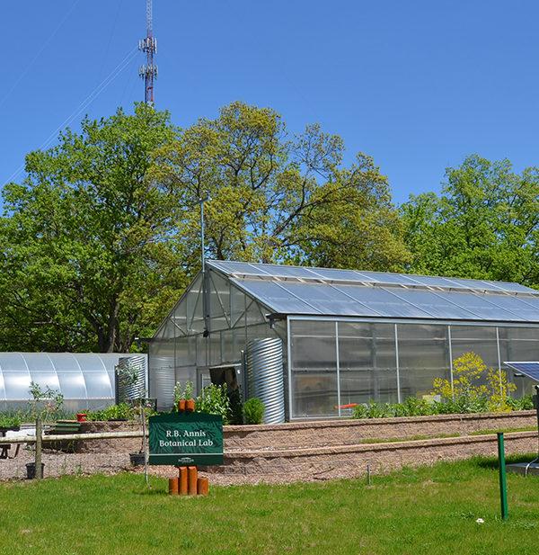 solar-powered botanical laboratory at Interlochen