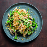 whole wheat penne with broccolini