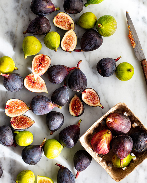 Adriatic and black mission figs