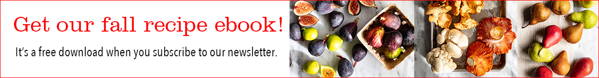 free fall recipe ebook when you subscribe!
