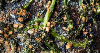 cheesy roasted broccoli