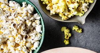 ghee popped popcorn