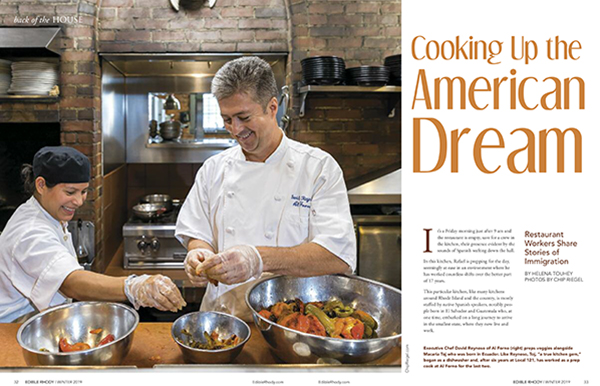 edible Rhody American dream