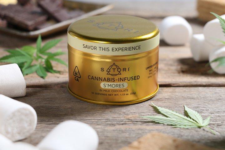 Satori Cannabis-Infused S'Mores Chocolate